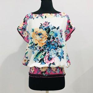 JUMP Floral Blouse